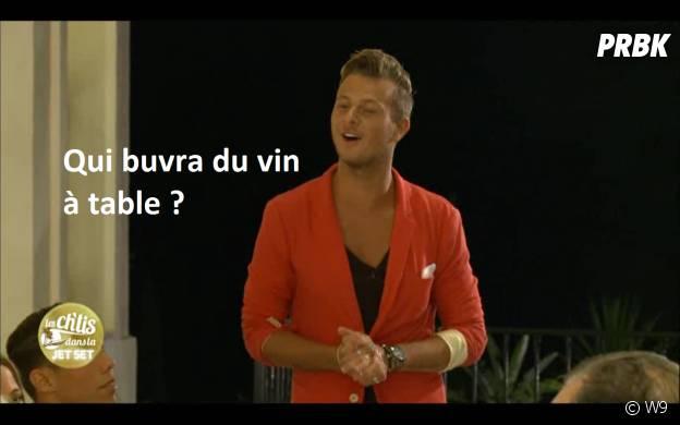 """Vincent (Les Ch'tis dans la Jet Set) : """"qui buvra du vin ?"""""""