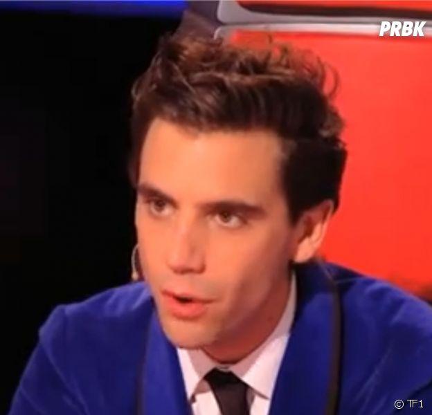 Mika pendant la saison 3 de The Voice sur TF1