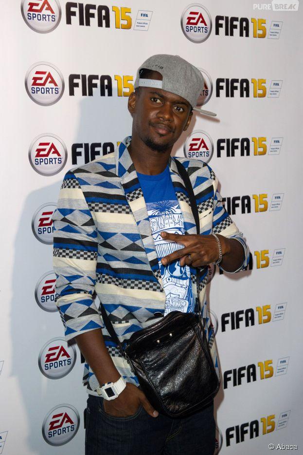Black M à la soirée FIFA 15 le 22 septembre 2014