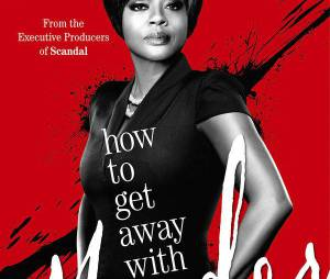 How To Get Away With Murder : poster avec Viola Davis