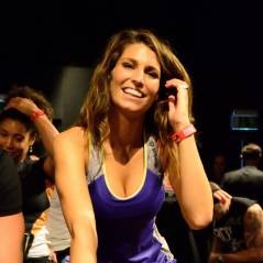 Laury Thilleman sportive mais toujours sexy pour Reebok