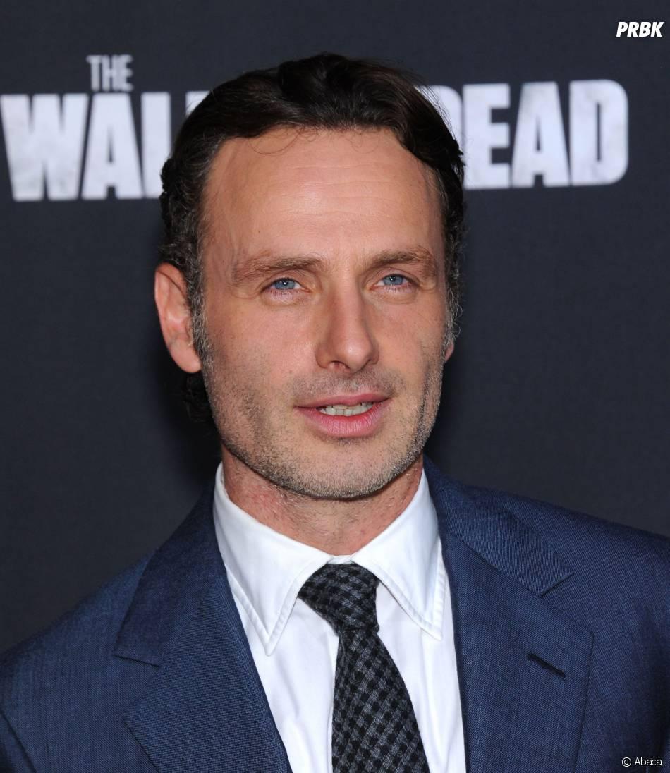 The Walking Dead saison 5 : Andrew Lincoln sans barbe, danger pour Rick ?