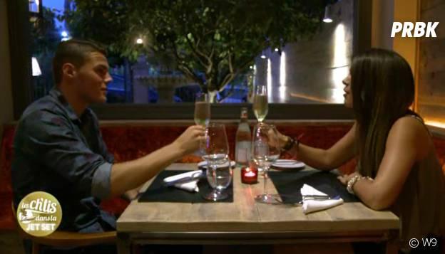 Jordan et Marion (Les Ch'tis dans la Jet Set) en rendez-vous romantique