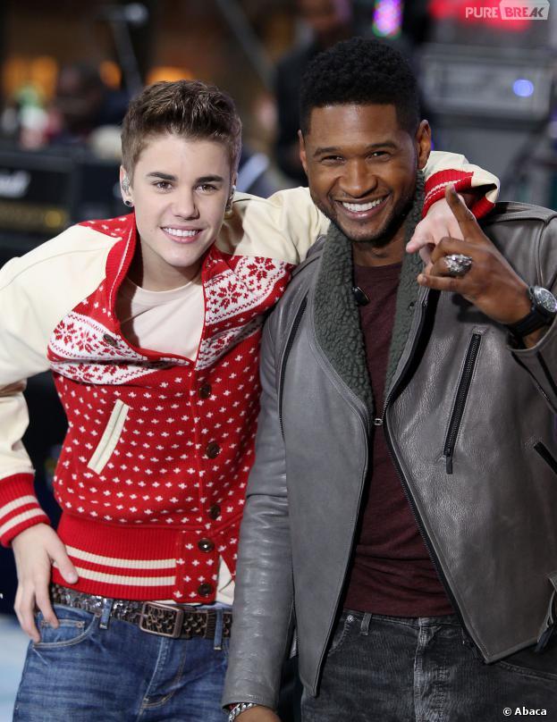 Justin Bieber : Usher prêt à le frapper pour le recadrer