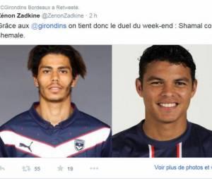 Thiago Silva (PSG) moqué par Bordeaux et Twitter