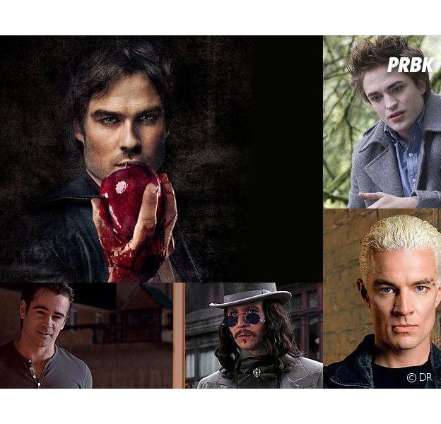 Vampire Diaries, Twilight... Les meilleurs et les pires vampires du cinéma et de la tél