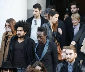 Rising Star : l'enterrement de Gaël Lopes en présence de sa famille, de ses proches (parmi lesquels Marco Prince) et aussi de Faustine Bollaert a eu lieu le 27 octobre 2014 au cimetière du Père Lachaise à Paris