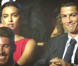Cristiano Ronaldo moqué en direct, Irina Shayk fait la tête