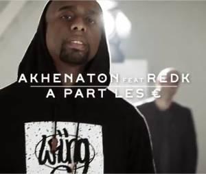 """Akhenaton - A part les € feat R.E.D.K, le clip extrait de l'album """"Je suis en vie"""""""