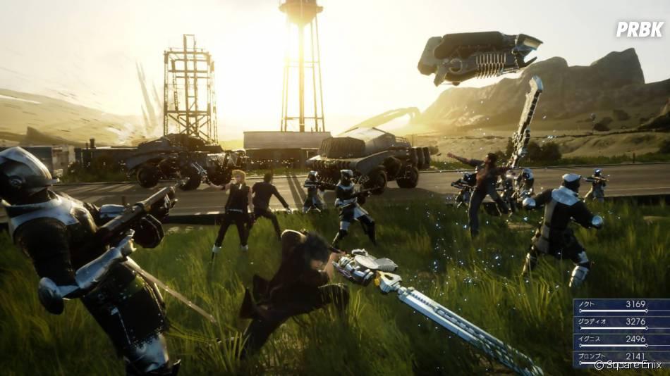 Final Fantasy 15 sort courant 2015 sur PS4 et Xbox One