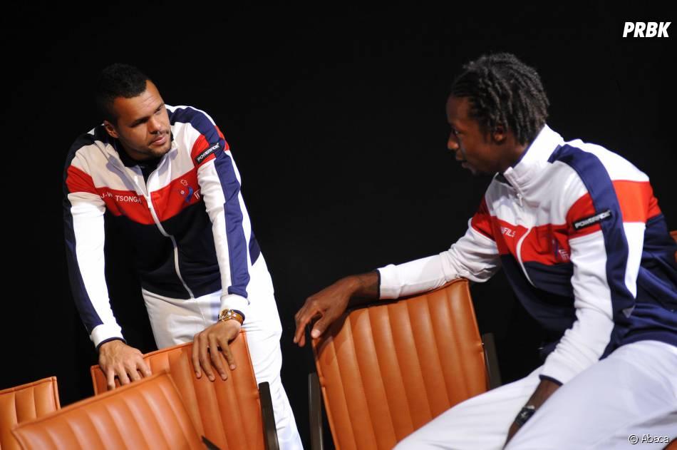 Jo Wilfried Tsonga et Gaël Monfils affrontent la Suisse en finale de la Coupe Davis 2014