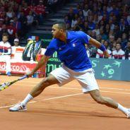 Jo-Wilfried Tsonga tacle le public après sa défaite en Coupe Davis 2014