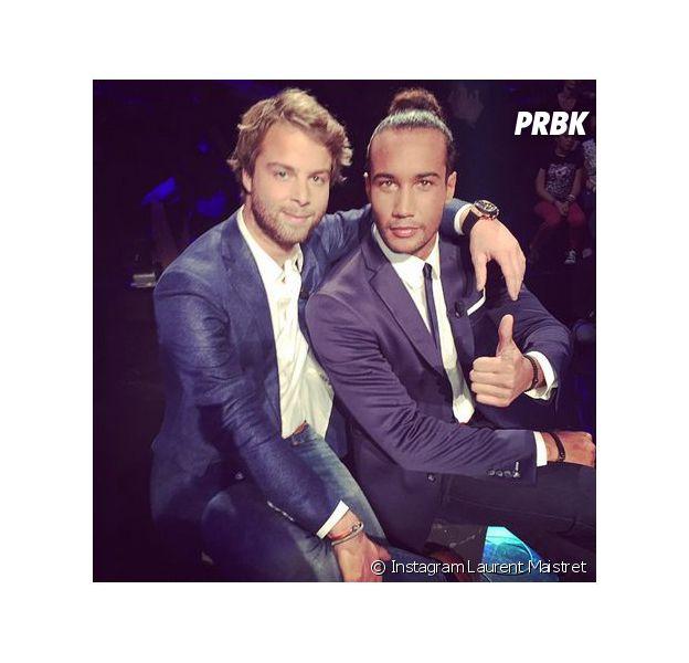 Koh Lanta 2014 : Laurent et Martin pendant la finale, le 21 novembre 2014 sur TF1