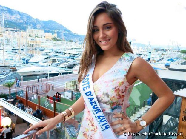 Charlotte Pirroni (Miss Côte d'Azur 2014) sublime sur Facebook