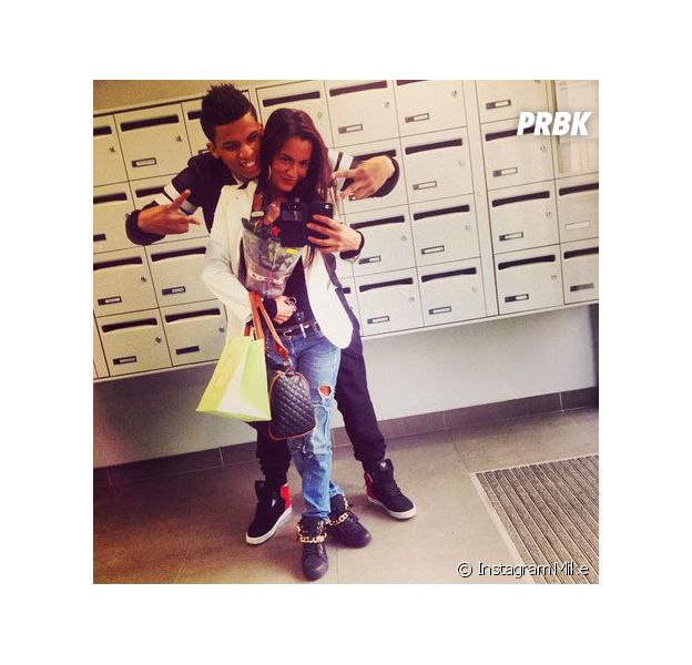 Mike et Maeva en couple sur Instagram pour annoncer leur réconciliation, le 28 novembre 2014