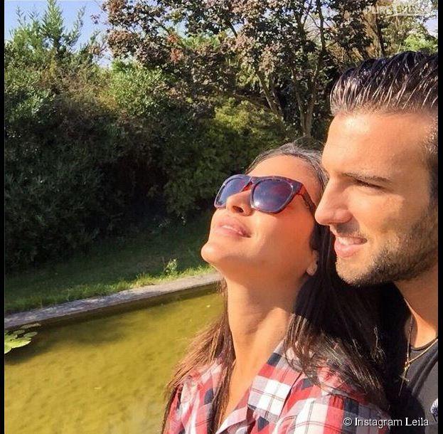 Leila Ben Khalifa et Aymeric Bonnery en couple depuis trois mois
