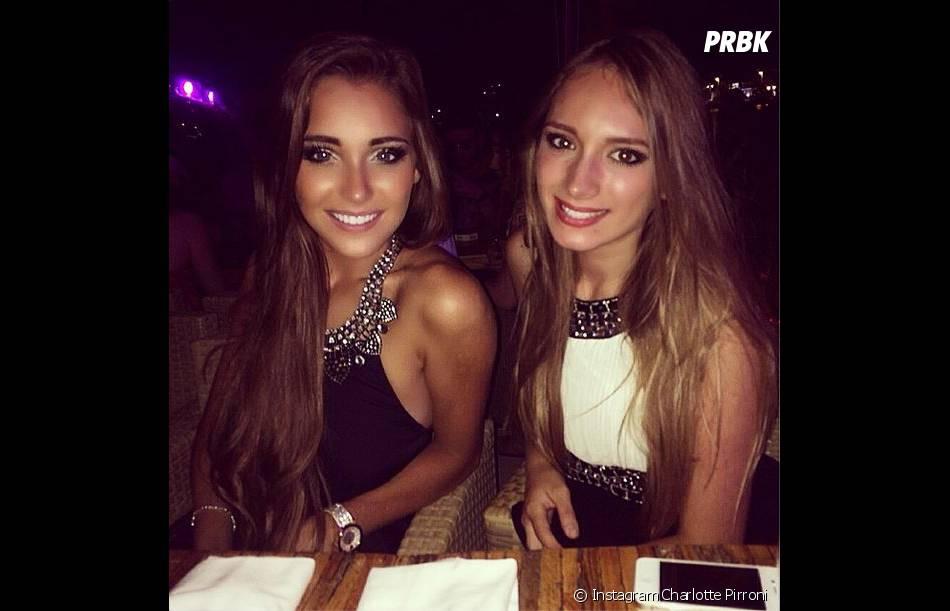 Charlotte Pirroni (à gauche) : le sourire de Miss Côte d'Azur n'a pas suffi pour la faire élire Miss France 2015