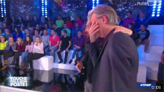 Gilles Verdez en larmes dans TPMP, le 4 décembre 2014