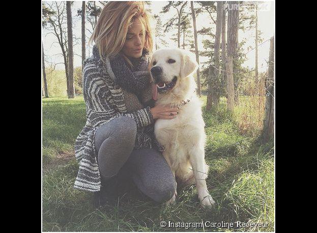 Caroline Receveur et son bébé Island sur Instagram