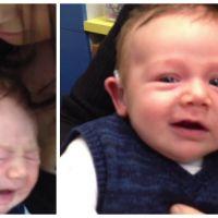 Bouleversant ! Regardez ce bébé sourd entendre pour la première fois