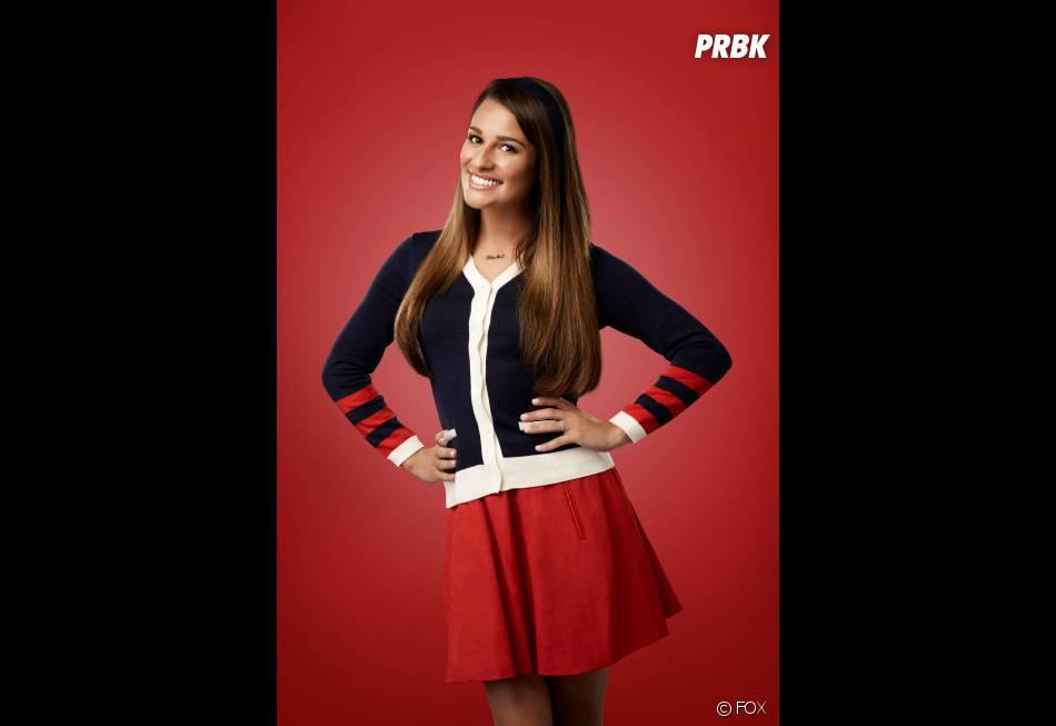 Glee : Lea Michele, aka Rachel, sur une photo promo