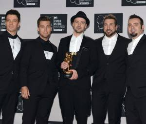 Justin Timberlake et les NSYNC aux MTV Video Music Awards 2013