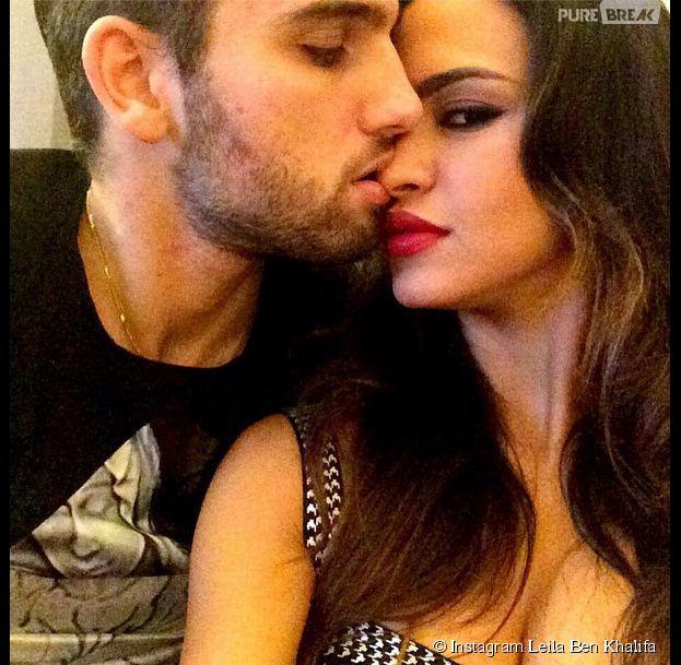 Leila Ben Khalifa et Aymeric Bonnery plus amoureux que jamais