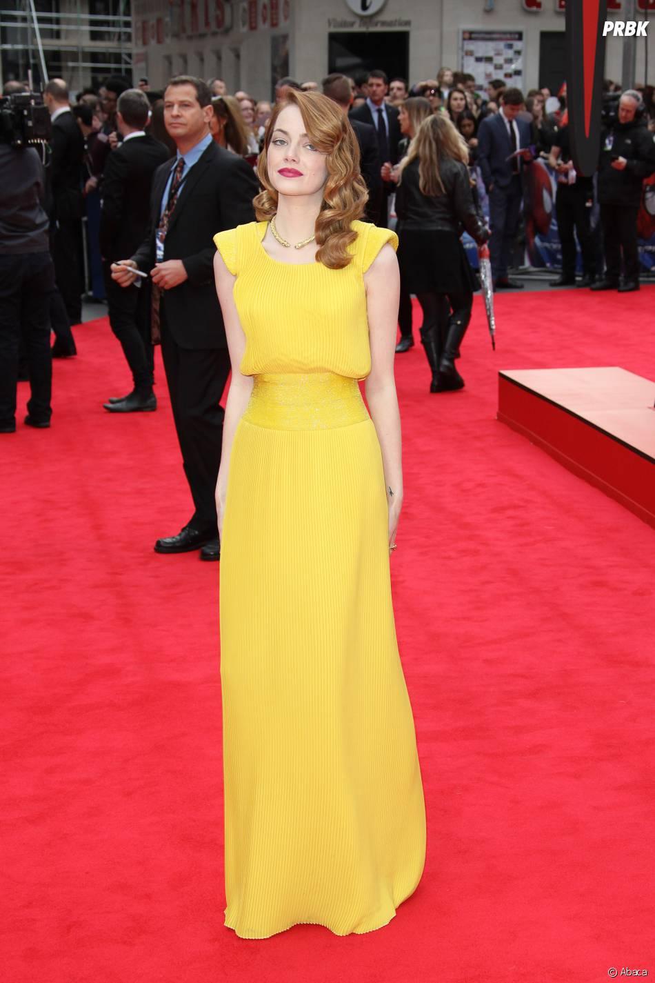 Les personnalités les mieux habillées de 2014 : Emma Stone à une avant-première de The Amazing Spider-Man 2