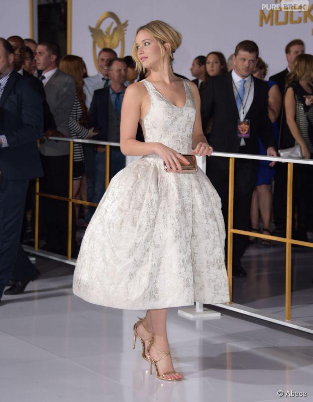 Les personnalités les mieux habillées de 2014 : Jennifer Lawrence à l'avant-première d'Hunger Games 3 à Los Angeles