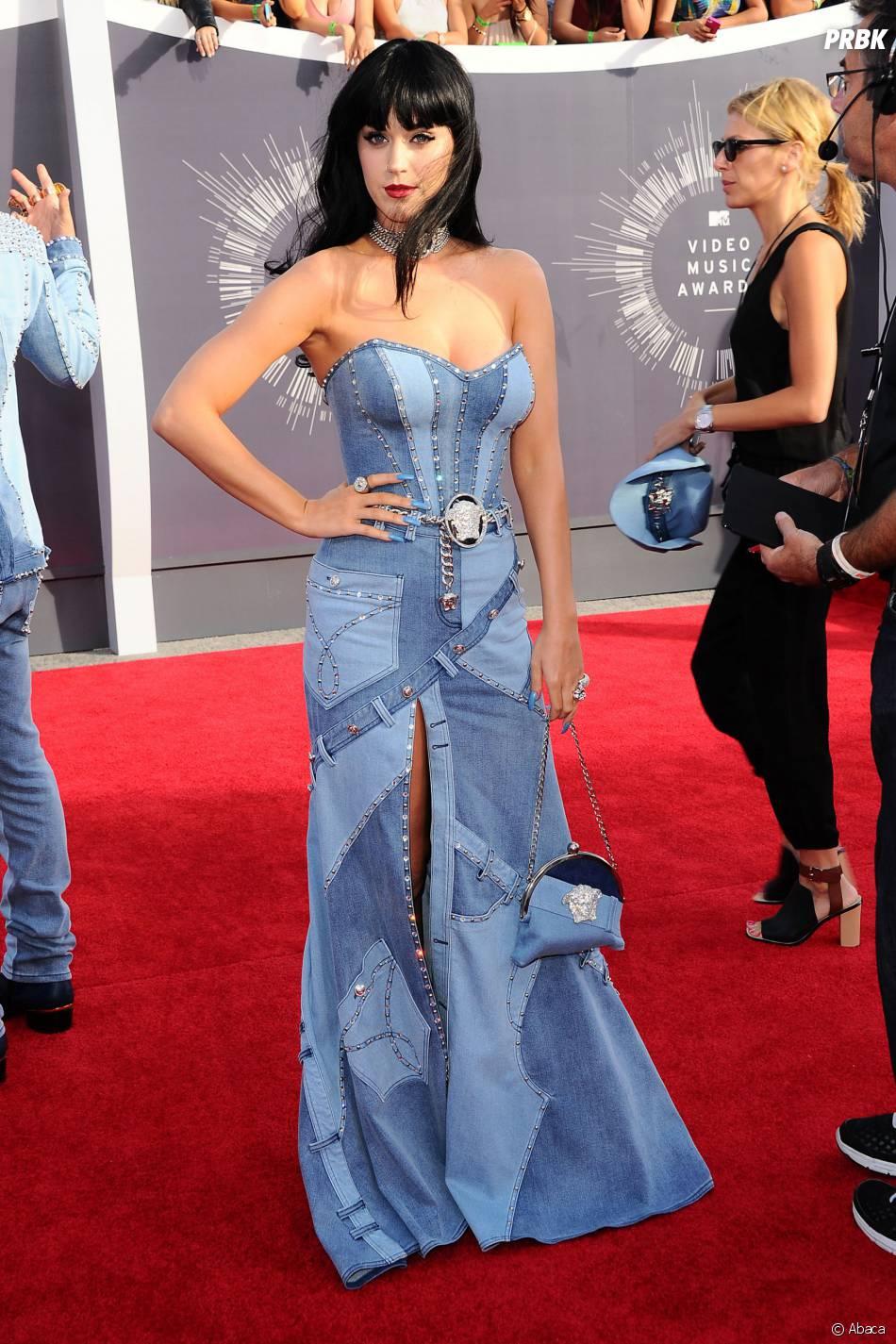 Les personnalités les moins bien habillées de 2014 : Katy Perry aux MTV Video Music Awards