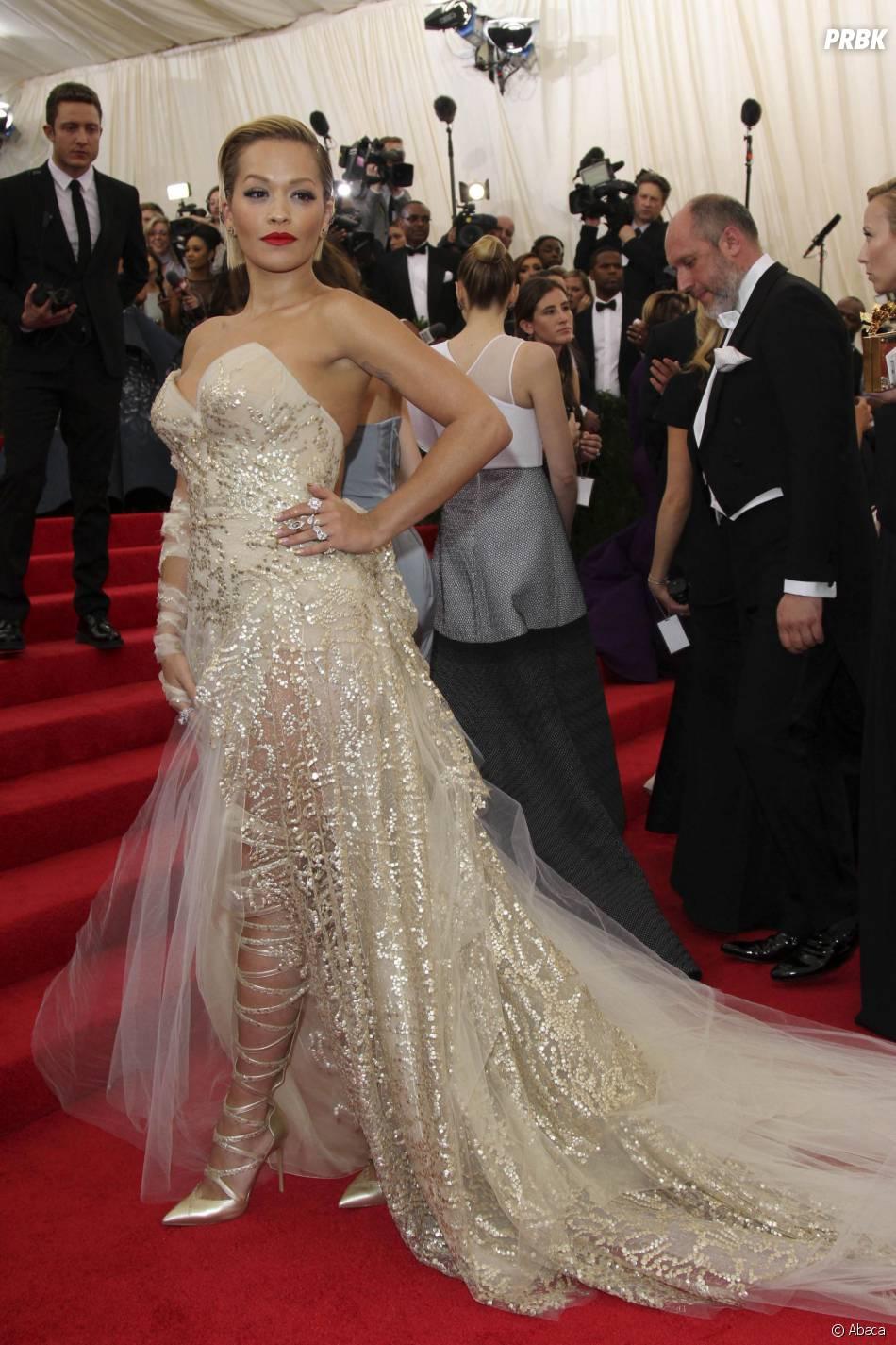 Les personnalités les moins bien habillées de 2014 : Rita Ora au MET Gala