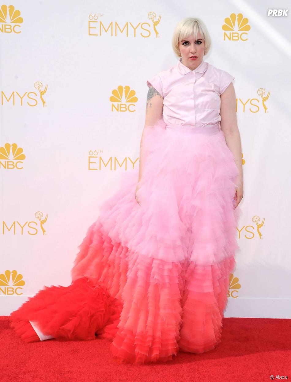 Les personnalités les mieux habillées de 2014 : Lena Dunham aux Emmy Awards