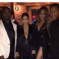 Kim Kardashian : un décolletée hallucinant pour l'anniversaire de John Legend