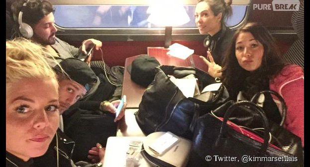 Kim, Paga, Antonin, Stéphanie, Kim et Jessica direction Paris... pour le tournage des Marseillais en Thaïlande ?
