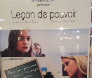 Sabrina Perquis : avant-première de son second court-métrage Leçon de pouvoir, le 13 janvier 2015
