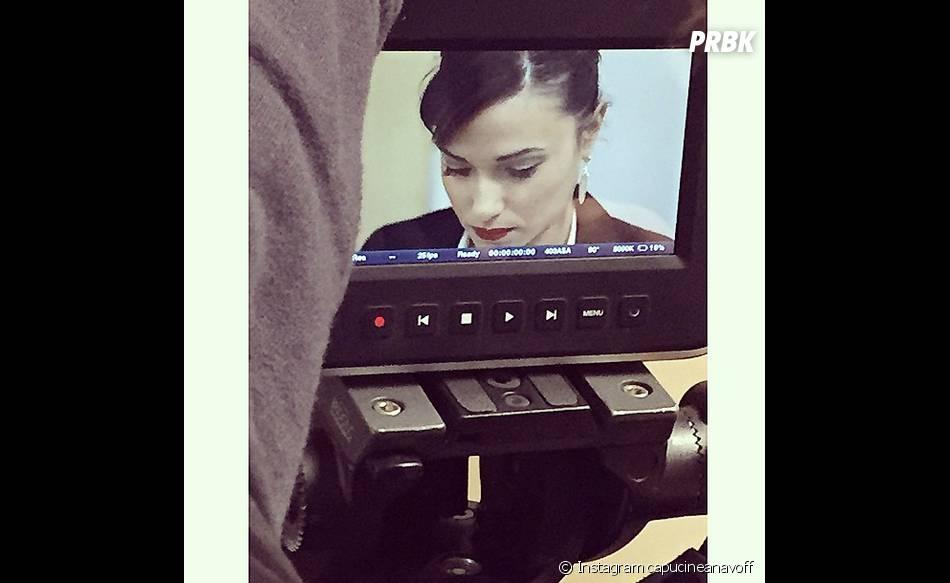 Capucine Anav actrice pour le second court-métrage de Sabrina Perquis