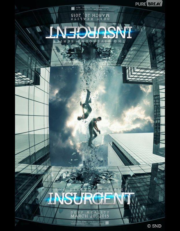Divergente 2 : affiche avec Shailene Woodley et Theo James