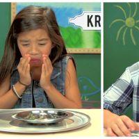 Des enfants américains goûtent des escargots pour la première... et dernière fois ?