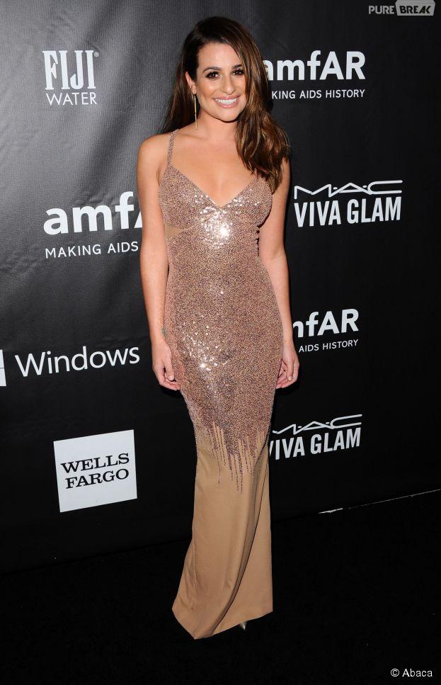 Lea Michele au casting de la série Scream Queens