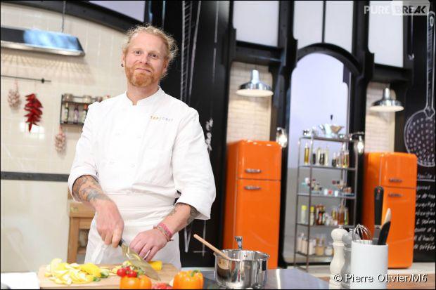 Nicolas Pourcheresse, 43 ans, est l'aîné des candidats de Top Chef 2015