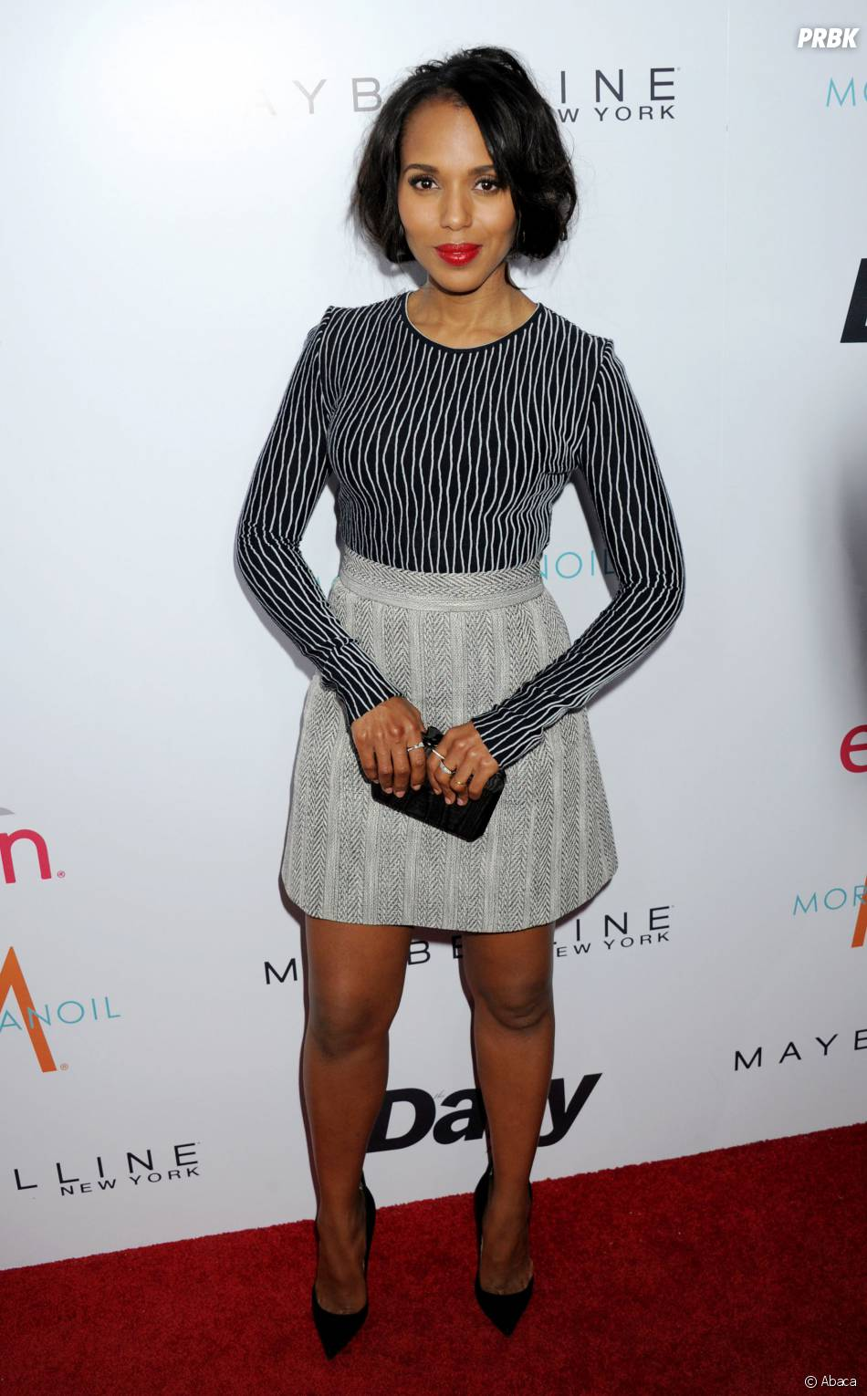 Kerry Washington sexy à la cérémonie des Fashion LA Awards le 22 janvier 2015 à Los Angeles
