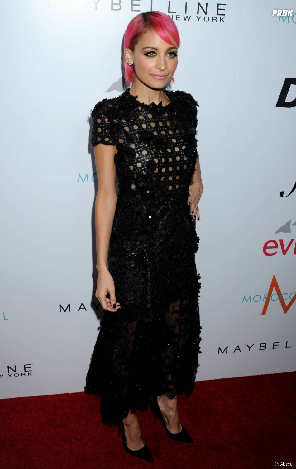Nicole Richie à la cérémonie des Fashion LA Awards le 22 janvier 2015 à Los Angeles