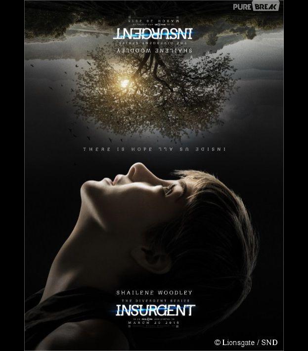 Divergente 2 : Shailene Woodley (Tris) sur une affiche du film