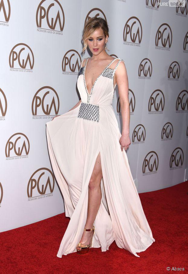 Jennifer Lawrence aux Producers Guild Awards 2015, le 24 janvier 2015 à Los Angeles