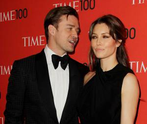Justin Timberlake et Jessica Biel à New-York le 17 décembre 2014