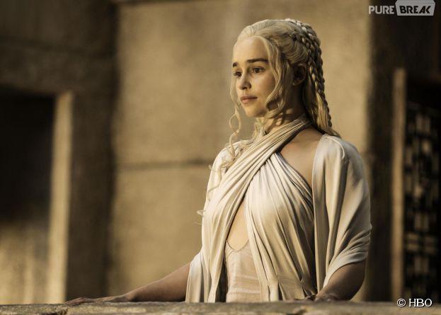 Game of Thrones saison 5 : Emilia Clarke (Danerys) sur une photo
