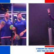 Cyril Hanouna canardé par les joueurs de l'équipe de France de handball dans TPMP