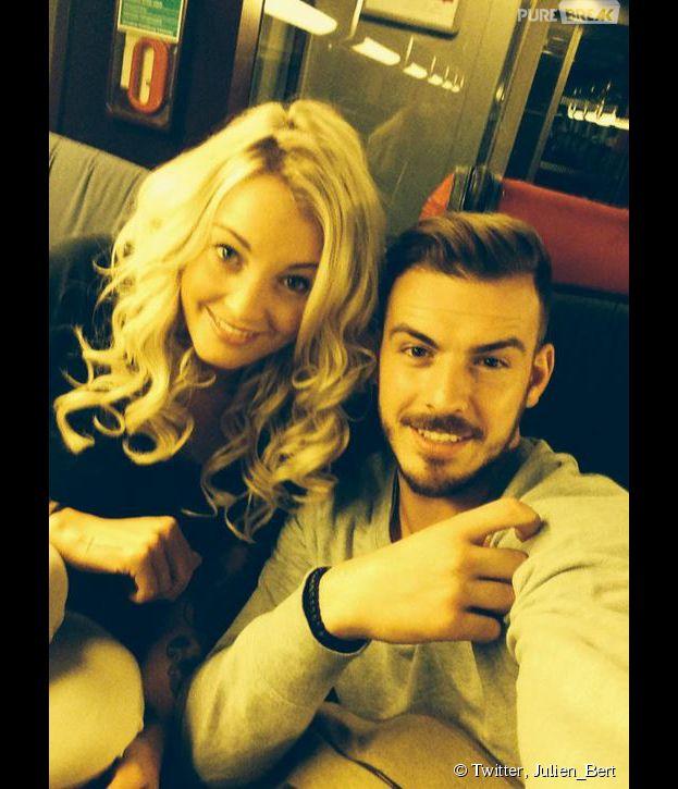 Aurélie Dotremont et Julien Bert : chamailleries sur Twitter, le 3 février 2015