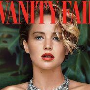 Jennifer Lawrence : nue, un serpent autour du cou, pour Vanity Fair