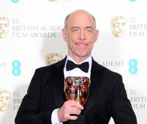 JK Simmons gagnant aux BAFTA 2015